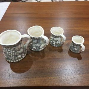 Vintage made in Japan cup measurements
